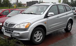 SsangYong Kyron front 20090423.jpg