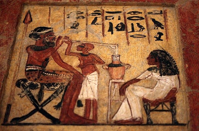 File:Stèle Mercenaire syrien 18ème dynastie Neues Museum 26042018 1.jpg