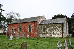 St.Andrew's church, Beesby, Lincs. - geograph.org.uk - 108099.jpg