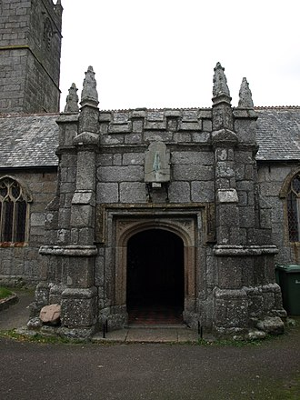 St Just in Penwith Parish Church - Image: St Just Church 2
