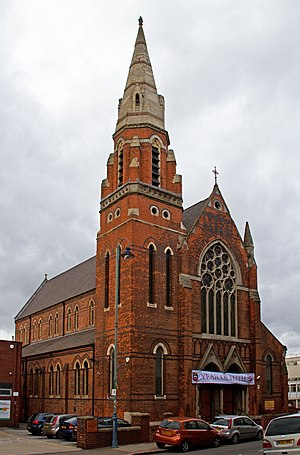 St Anne's Church, Birmingham - Image: St Annes Church Birmingham (8141432351)