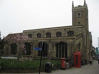 St Clements Church, Cambridge Church in Cambridgeshire, England