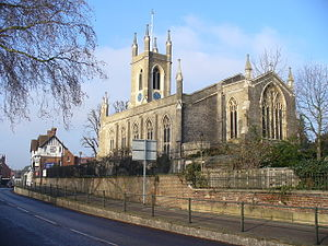 Edward Lapidge - St Mary's, Hampton (1829–31).