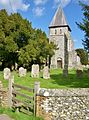 St Mary, Eastling from West.JPG