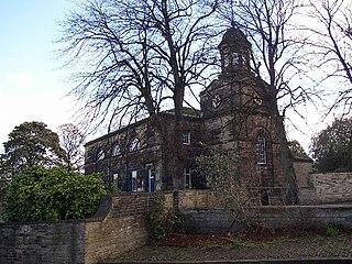 Rastrick Village in West Yorkshire, England