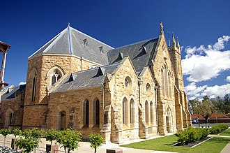 Roman Catholic Diocese of Wagga Wagga - St Michael's Cathedral, Wagga Wagga; consecrated in ca. 1859