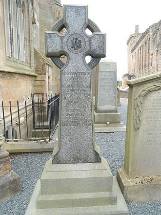 Charles Wyville Thomson - The headstone of Charles Wyville Thomson in St. Michael's Parish Churchyard.