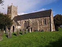 St Michael's church, Meeth - geograph.org.uk - 567325.jpg