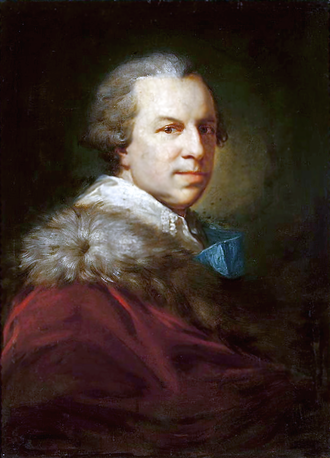 Stanisław Szczęsny Potocki - Portrait of Potocki by Johann Baptist von Lampi the Elder