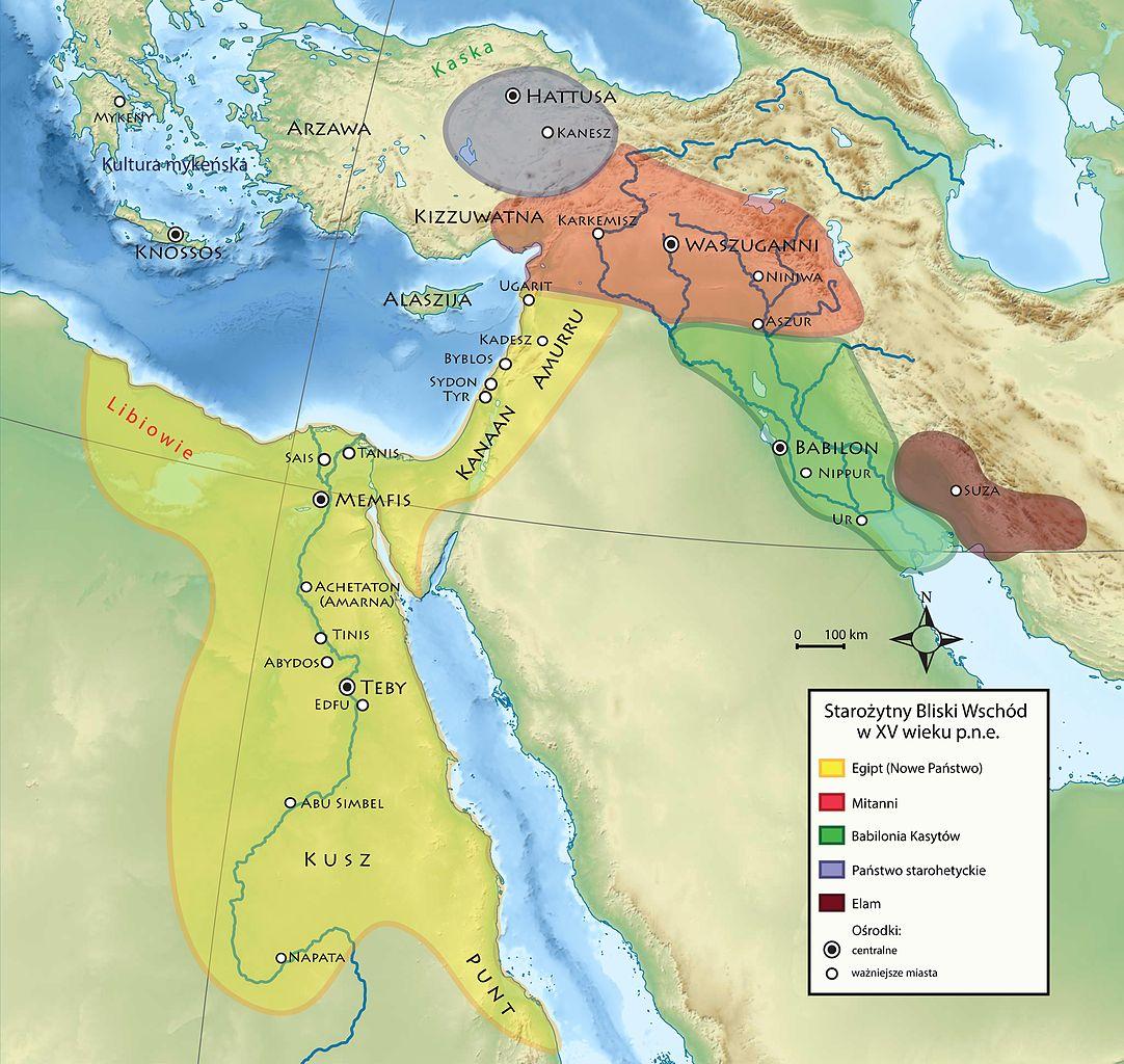 Villes Liban Carte
