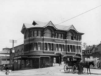 Canberra Hotel, Brisbane - Temperance Hall and the Colyer Refreshment Rooms, circa 19121