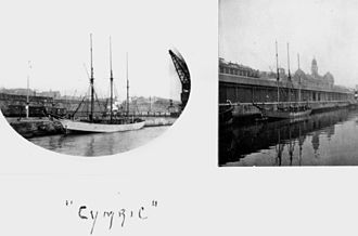 Cymric (schooner) - Photographs of Cymric held in the John Oxley Library