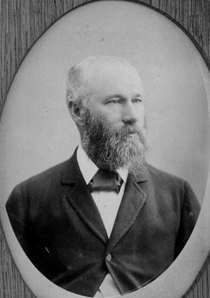 James Francis Garrick - Image: State Lib Qld 1 54104 Sir James Francis Garrick, 1875