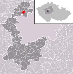 Vị trí trong Cộng hòa Séc