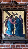 Station 4 Jesus meets His Mother, St. Nicholas Church in Elbl?g.JPG