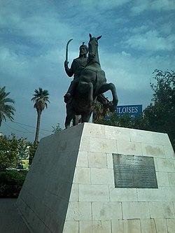 Statue of Antarah ibn Shaddad.jpg