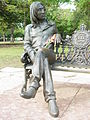 Statue of John Lennon in Public Park - El Vedado - Havana - Cuba.JPG