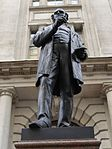 Statue of Rowland Hill, London, August 2014 02.jpg