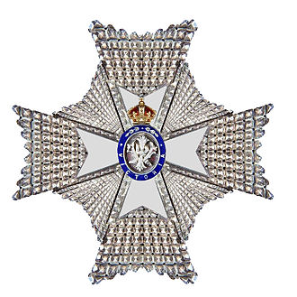 1896 Birthday Honours - Insignia of a Knight / Dames Commander of the Royal Victorian Order