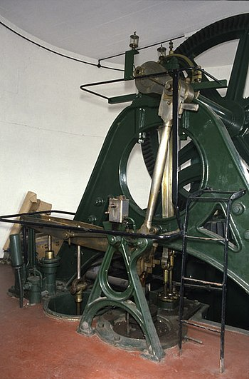 English: Steam pumping engine Curry Moor Somer...