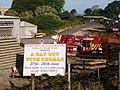 Steam railway hoarding, Churston Station - geograph.org.uk - 1387055.jpg