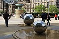 Steel Spheres, Peace Gardens - geograph.org.uk - 783630.jpg
