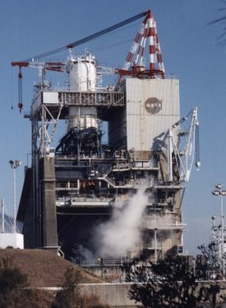 Rocket engine test facility - Sea Level engine test stand at the SSC