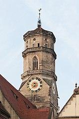 Stiftskirche Stuttgart Kirchturm 2013.jpg