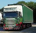 "Stobart H3210 ""Lauren Elizabeth"" (PX08 BJJ) 2008 Scania R420, 15 July 2013.jpg"