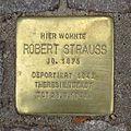 Stolperstein Bäckerweg 30 Robert Strauß.jpg