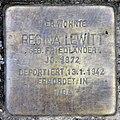 Stolperstein Holsteinische Str 34 (Fried) Regina Lewitt.jpg