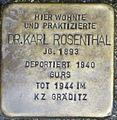 Stolperstein Karl Rosenthal Kehl.jpg