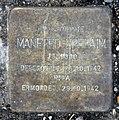 Stolperstein Klopstockstr 13 (Hansa) Manfred Ephraim.jpg