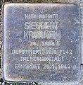 Stolperstein Schillerstr 13 (Charl) Siegbert Kronheim.jpg