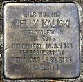 Stolperstein Zikadenweg 39 (Weste) Nelly Kaliski.jpg