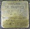 Stolperstein für Dr. Manfred Horowitz