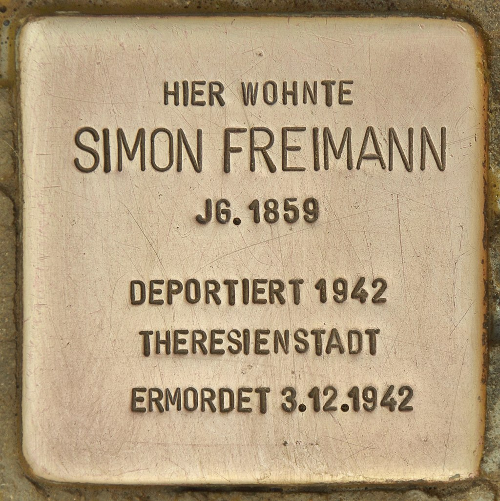 Stolperstein für Simon Freimann (Schnaittach).jpg