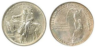 United States commemorative coin - 1925 Stone Mountain Memorial Half Dollar