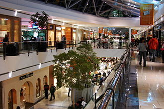 Frisco, Texas - Interior of Stonebriar Mall