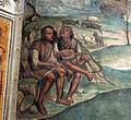 Storie di s. benedetto, 04 sodoma - Come Romano monaco da lo abito eremitico a Benedetto 02.JPG
