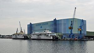 Stralsund, Volkswerft (2012-06-28), by Klugschnacker in Wikipedia (13).JPG