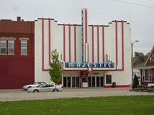 Streator, Illinois - Majestic Theatre in Streator, Illinois