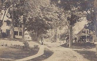 Walpole, New Hampshire - Street scene c. 1915