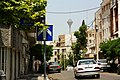 Street and the Milad Tower (14287875647).jpg