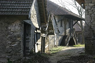 Spatial Cultural-Historical Units of Exceptional Importance (Serbia) - Image: Streets of Rajac, Serbia