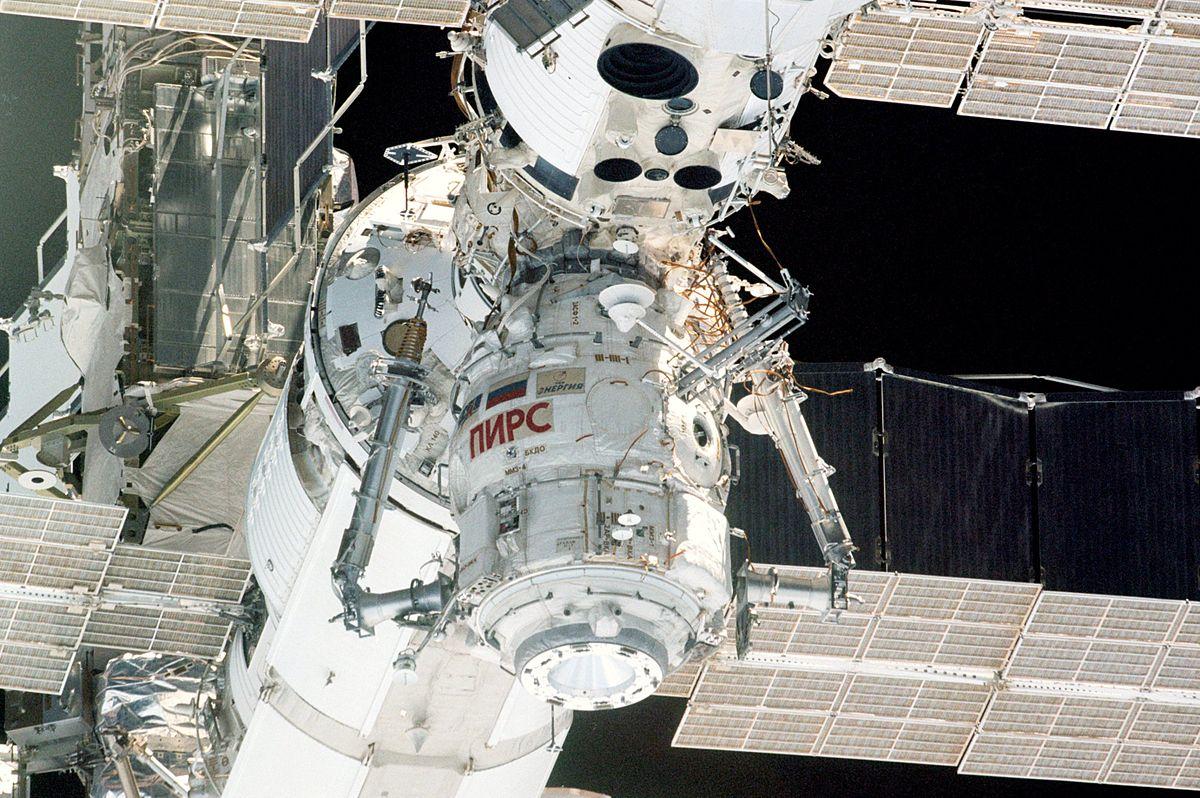 модуль Пирс - его будут готовить к сведению с орбиты
