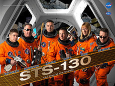 Sts130 mission poster