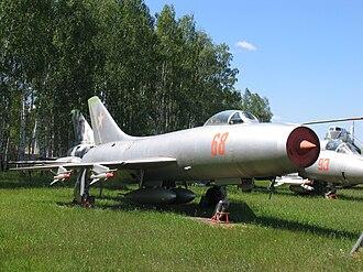 Sukhoi Su-9 - Sukhoi Su-9 in Monino museum