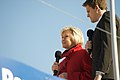 Sue Barker and Jake Humphrey, October 2008.jpg