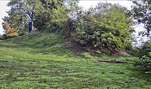 Sugarloaf Mound - Image: Sugar Loaf Mound at 4420 Ohio in St Louis MO 21
